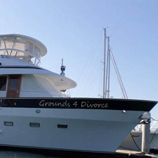 boat name ideas for the recently divorced