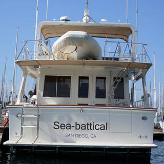 boat names for quitters of the rat race