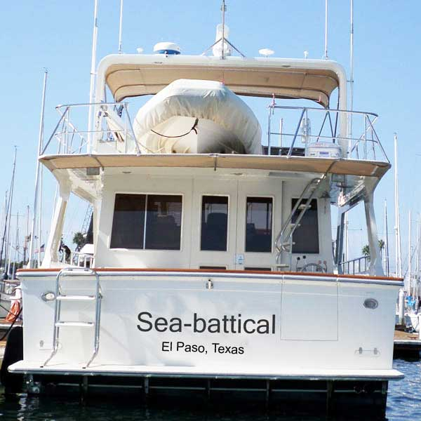 Awesome Boat Names For Permanent Vacations